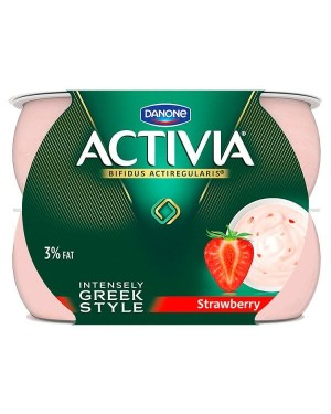 Danone Activia Intensely Creamy Strawberry Yogurt