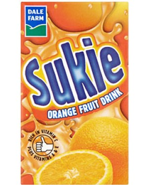M3 Distribution Dale Farm Sukie 250ml Orange Carton